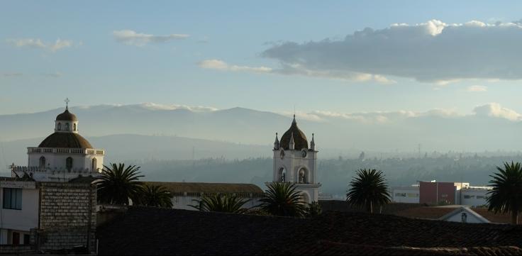 Vue sur les toits de la Catedral